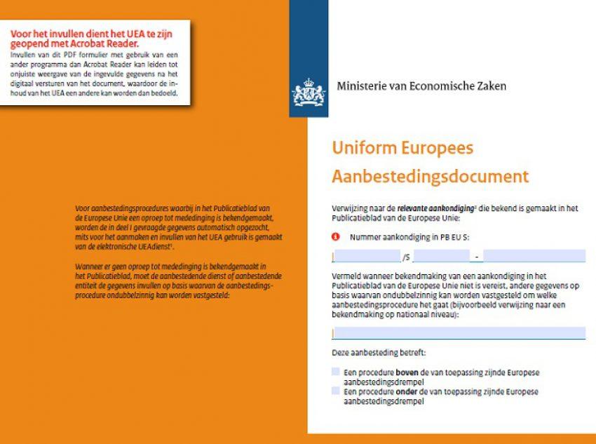 Tevergeefs zoeken naar geschiktheidseisen in het Uniform Europees Aanbestedingsdocument?