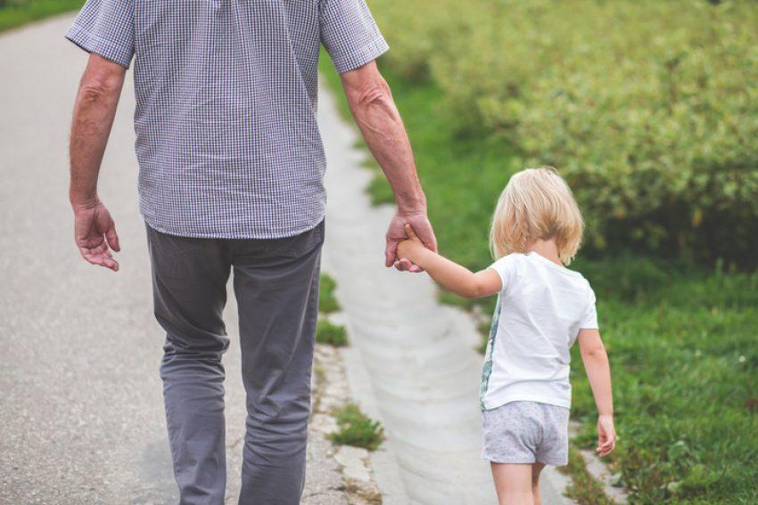 Gratis erven door kleinkinderen