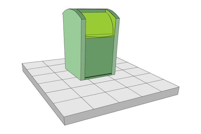 Update (aanwijzing locaties) ondergrondse afvalcontainers