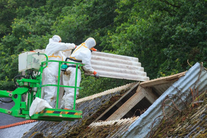 Afbeelding voor Verwijderen asbestdaken zonder asbestdakenverbod